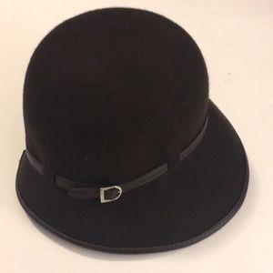Brown Nine West hat